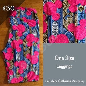 One Size LuLaRoe Collection for Disney Leggings!